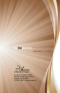 forthejourney December 1 7, 2013