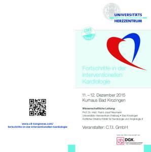 Fortschritte in der interventionellen Kardiologie