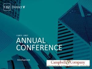 FORTY - FIRST ANNUAL CONFERENCE. Development