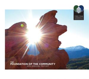 FOUNDATION OF THE COMMUNITY