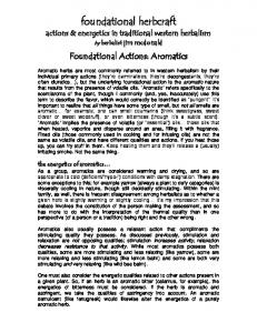 Foundational Actions: Aromatics