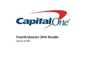 Fourth Quarter 2016 Results. January 24, 2017