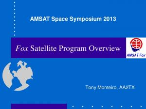Fox Satellite Program Overview