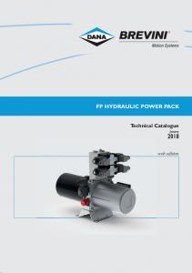 FP HYDRAULIC POWER PACK