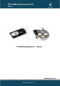 FPC-AMD3 Development Kit Manual