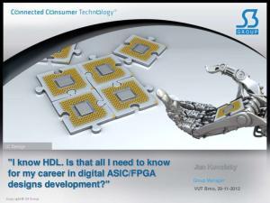 FPGA designs development?