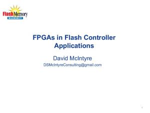 FPGAs in Flash Controller Applications