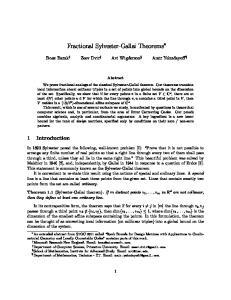 Fractional Sylvester-Gallai Theorems