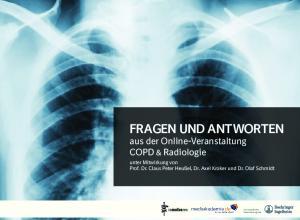 FRAGEN UND ANTWORTEN aus der Online-Veranstaltung COPD & Radiologie