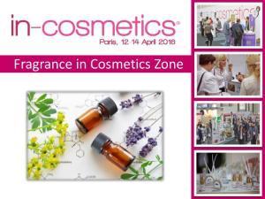 Fragrance in Cosmetics Zone