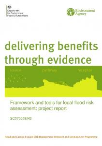 Framework and tools for local flood risk assessment: project report