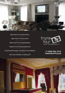 FrameYourTV.co.uk. Blend Your TV into Your Décor. Make Your TV a Piece of Art. Make Your TV an Amazing Mirror