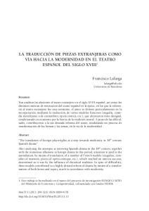 Francisco Lafarga. Universitat de Barcelona