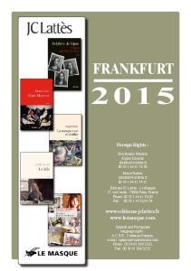 FRANKFURT.   Foreign Rights :
