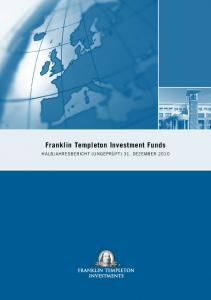 Franklin Templeton Investment Funds