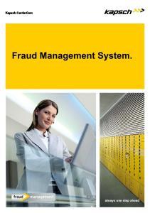 Fraud Management System