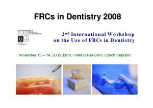 FRCs in Dentistry 2008