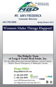FREDERICK. Winners Make Things Happen!