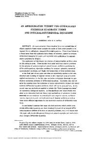 FREDHOLM QUADRATIC FORMS AND INTEGRAL-DIFFERENTIAL EQUATIONS