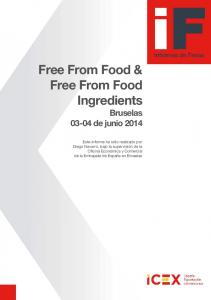 Free From Food & Free From Food Ingredients