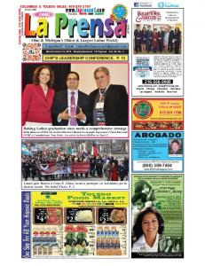 FREE! Ohio & Michigan s Oldest & Largest Latino Weekly CHIP S LEADERSHIP CONFERENCE, P. 13