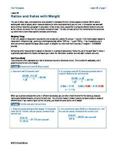 Free Pre-Algebra Lesson 38! page 1