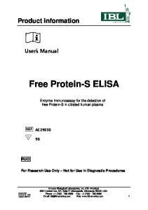 Free Protein-S ELISA