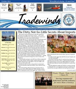 FREE Publication of the North Carolina Fisheries Association Tradewinds