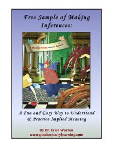 Free Sample of Making Inferences: