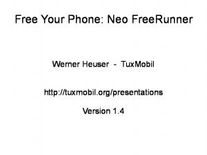 Free Your Phone: Neo FreeRunner