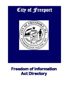 Freedom of Information Act Directory