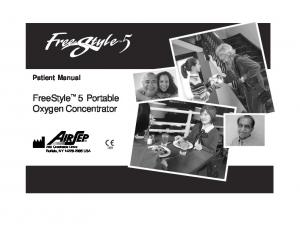 FreeStyle 5 Portable Oxygen Concentrator