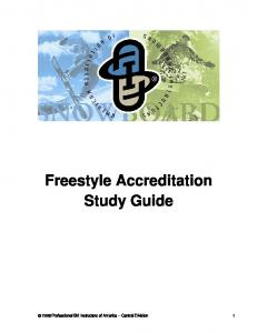 Freestyle Accreditation Study Guide