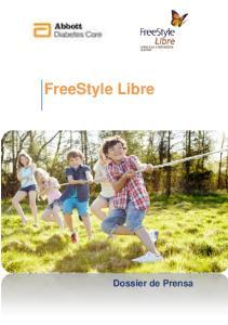 FreeStyle Libre. Dossier de Prensa