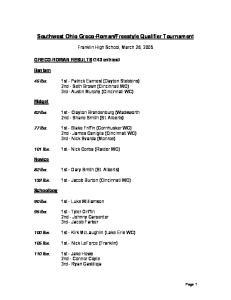 Freestyle Qualifier Tournament