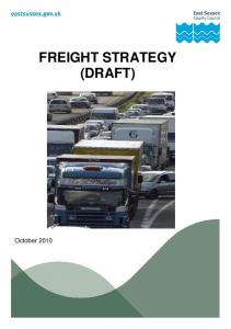 FREIGHT STRATEGY (DRAFT)