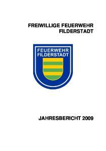 FREIWILLIGE FEUERWEHR FILDERSTADT
