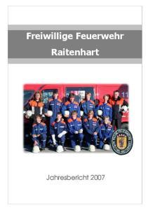 Freiwillige Feuerwehr Raitenhart
