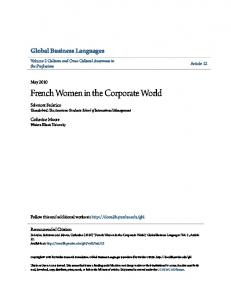 French Women in the Corporate World