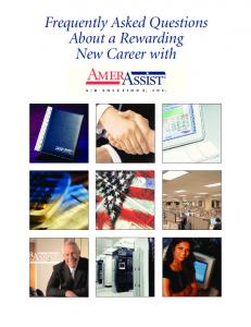 Frequently Asked Questions About a Rewarding New Career with. AmerAssist