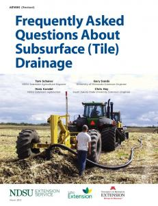 Frequently Asked Questions About Subsurface (Tile) Drainage