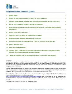 Frequently Asked Questions (FAQs):
