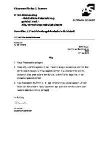 Friedrich-Mergel-Realschule Goldstadt