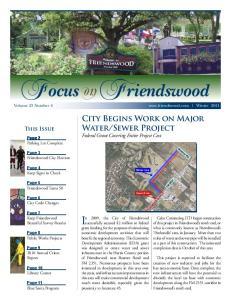 Friendswood Volume 23 Number 4  Winter 2011