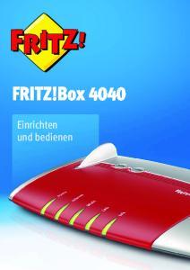 FRITZ!Box Einrichten und bedienen