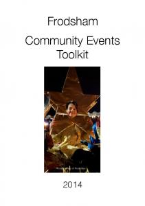 Frodsham Community Events Toolkit