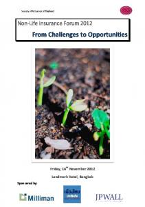 From Challenges to Opportunities
