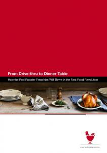 From Drive-thru to Dinner Table