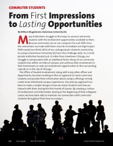 From First Impressions to Lasting Opportunities
