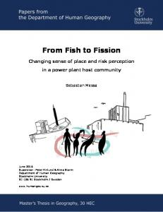 From Fish to Fission